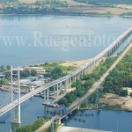 Luftbild Rügenbrücke