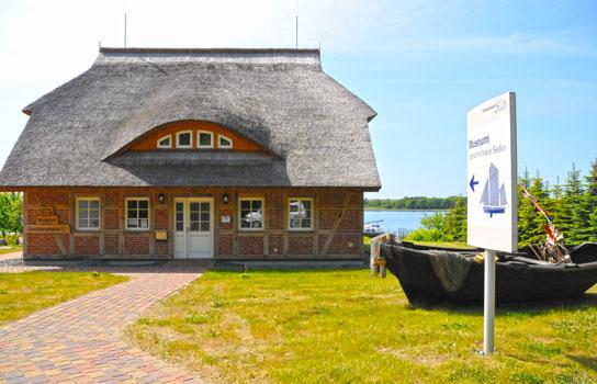 Museum Seefahrerhaus direkt am Selliner See
