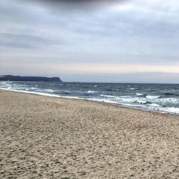 Am Strand. Ostseebad Göhren
