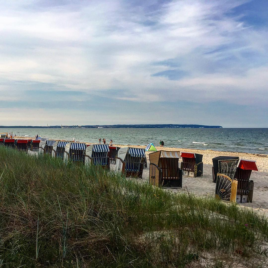 Ostseebad Binz am Strand
