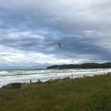 Ostseebad Binz. Wind und Wellen