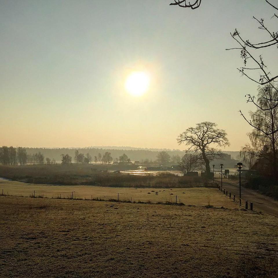 Moritzdorf im Winter
