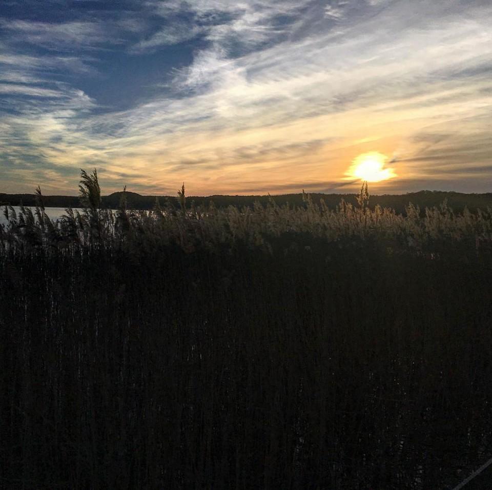 Abends am Schmachter See in Binz