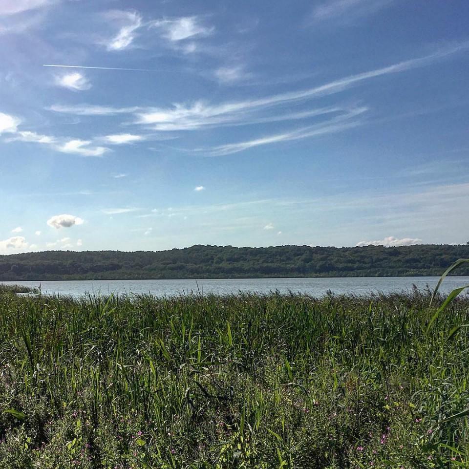 Schmachter See in Binz auf
