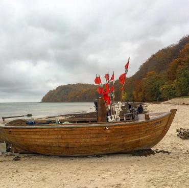 Herbst am Strand