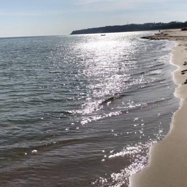 Strandwetter auf Rügen. Heute in Baabe